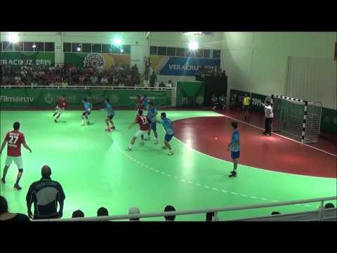 HANDBALL Guatemala - México / Juegos Centroamericanos y del Caribe Veracruz 2014