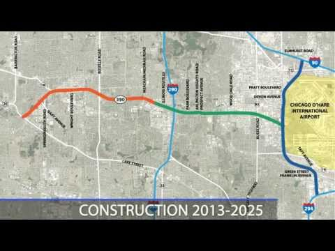 Elgin O'Hare Western Access (EOWA) Project Overview