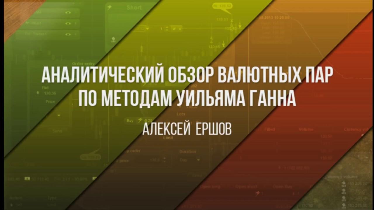 Аналитический обзор основных валютных пар по методам Уильяма Ганна 27 04 2017