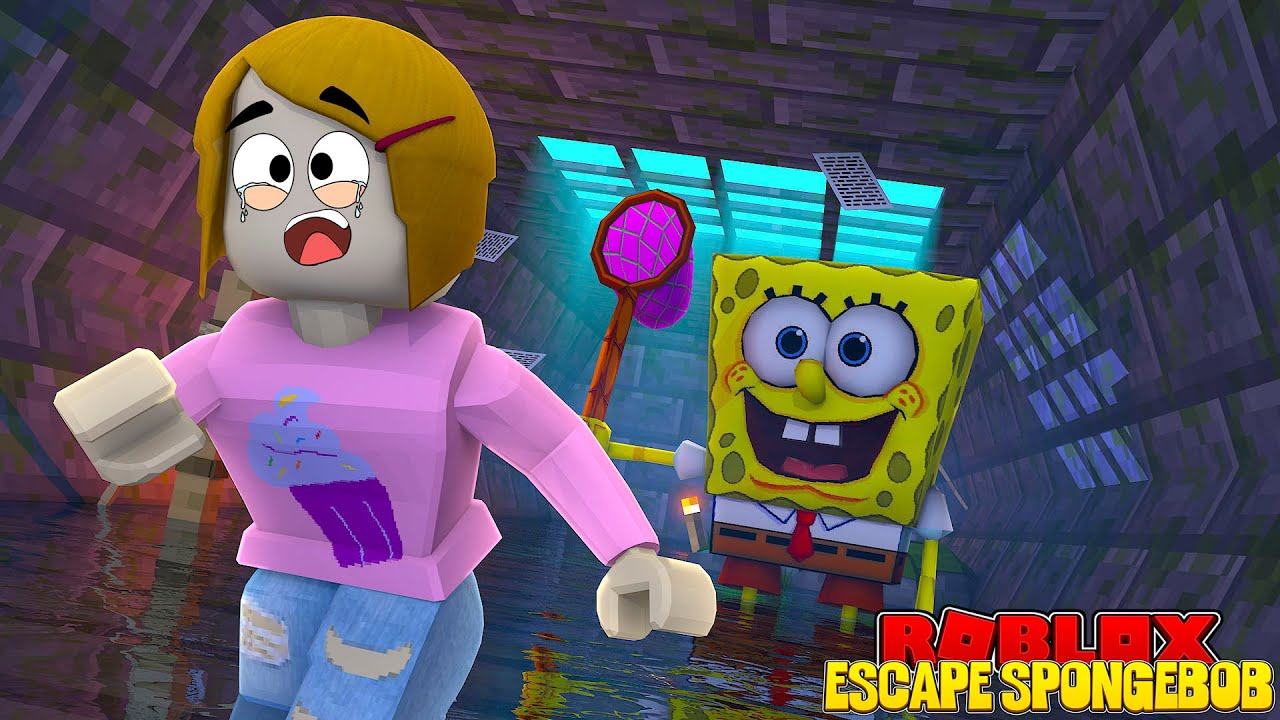 Roblox Escape Spongebob Obby With Molly Youtube