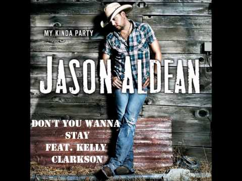 Don't You Wanna Stay by Jason Aldean Feat. Kelly Clarkson (Album Cover) (HD)