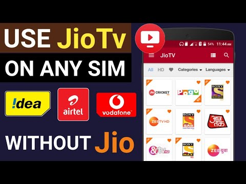 How To Use JioTv Without Jio Sim Card | Use Jiotv App In Any Sim Card