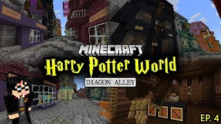 Building A Harry Potter Minecraft World - Ep. 4 (Diagon Alley)
