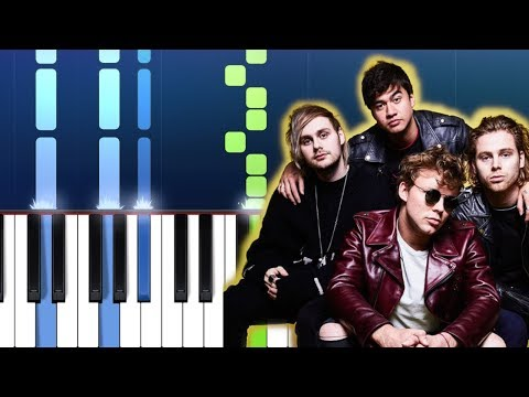 5 Seconds Of Summer - Easier Piano Tutorial