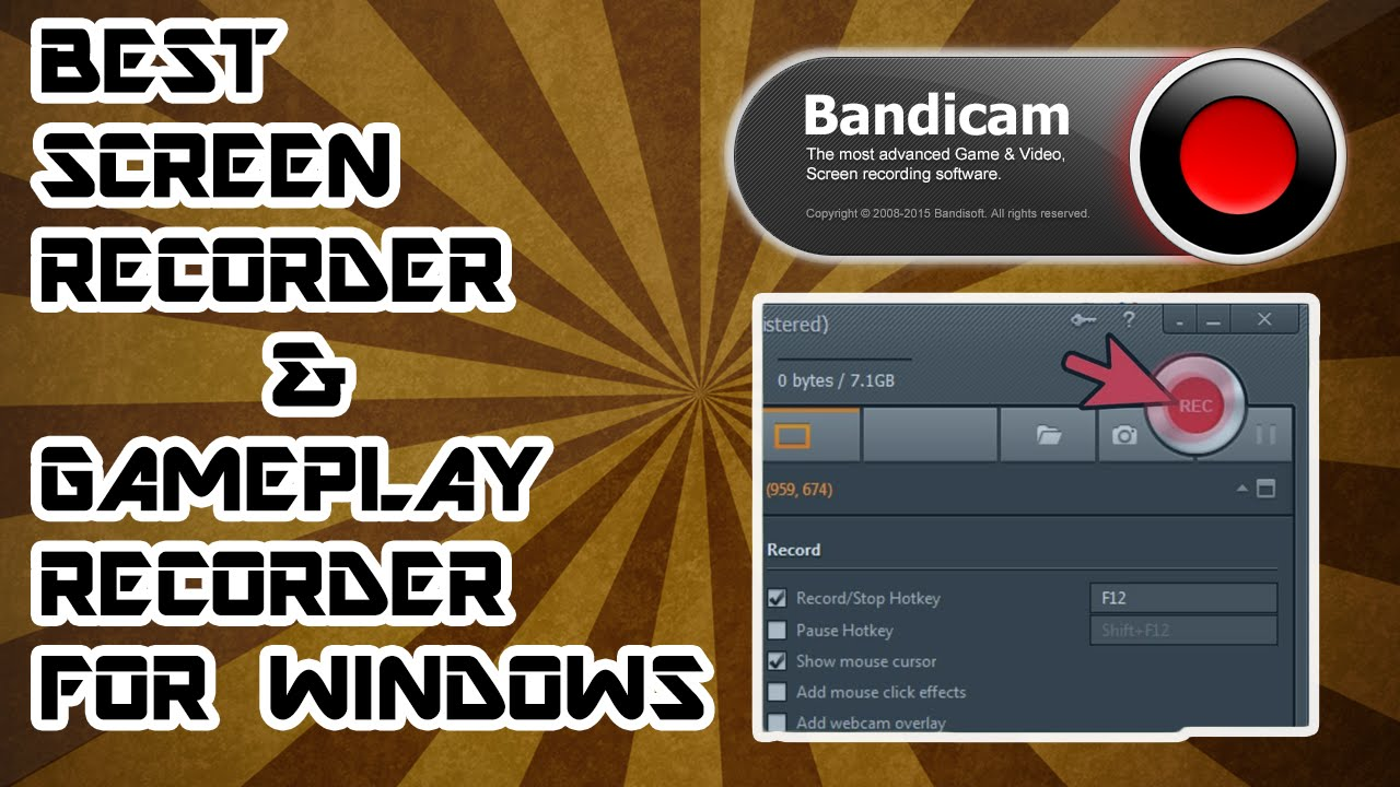 Best Screen Recorder for windows (Not Working)