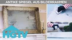 Antike Spiegel aus Bilderrahmen | DIY | HGTV Deutschland