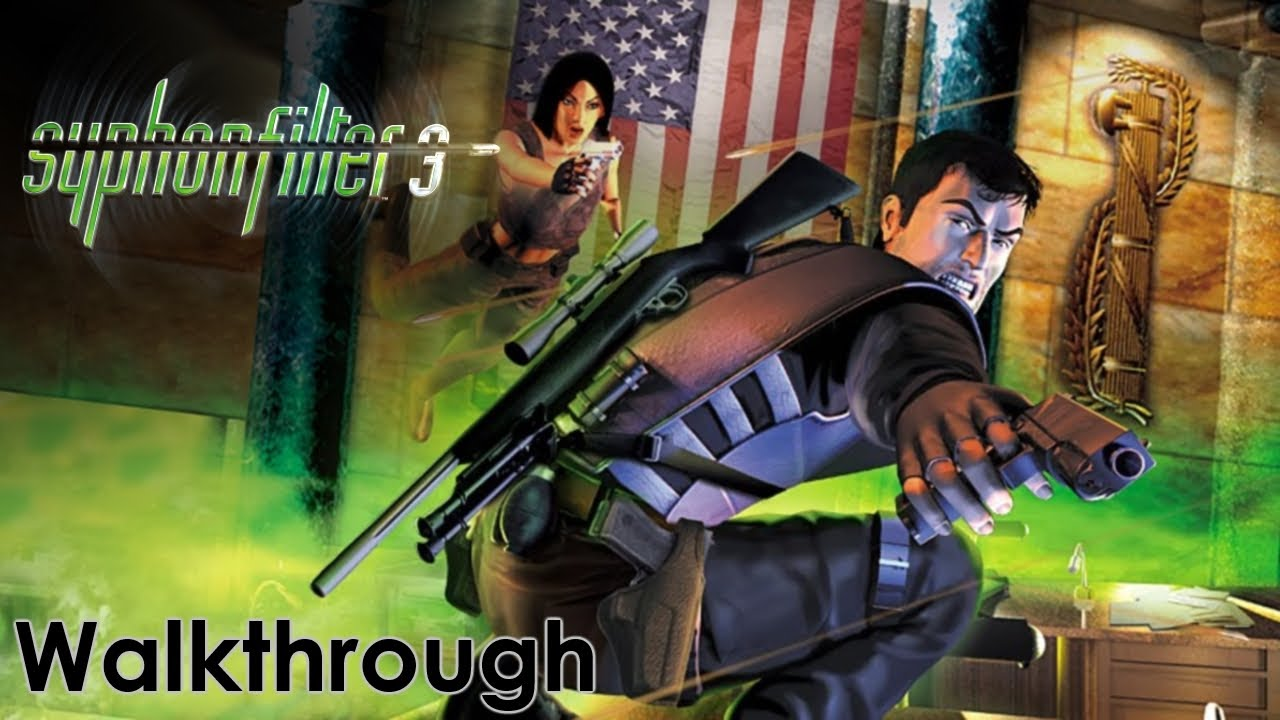 Syphon Filter 3 ROM (ISO) Download for Sony Playstation / PSX