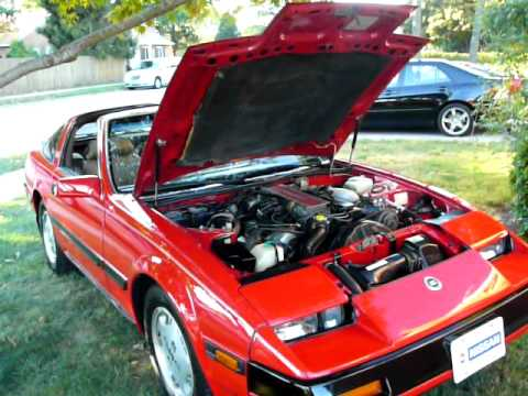 for sale 1985 nissan 300zx non turbo youtube. Black Bedroom Furniture Sets. Home Design Ideas