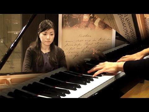 山口友由実さん ウィーンのピアノで「謝肉祭」