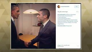 "Siavosh Derakhti: ""Obama undrade om jag hade flickvän"" - Malou Efter tio (TV4)"