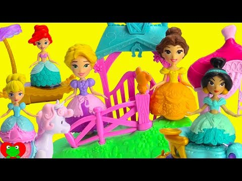 Disney Princess Magical Movers Cinderella's Pony and Jasmine's Magic Carpet Surprises