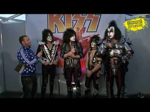 Kiss - Interview - DASDING bei Rock am Ring 2010