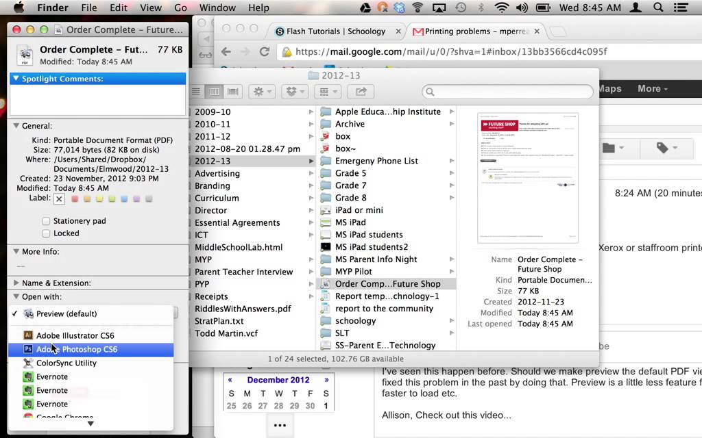 How to change your default PDF viewer to Preview