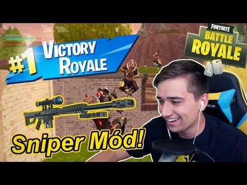 Sniper přestřelka s Heavy Sniperkou! | Sniper Shootout Fortnite CZ/SK | Jakub Destro