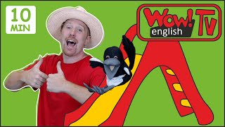 Hide and Seek Summer Stories for Kids from Steve and Maggie | Wow English TV