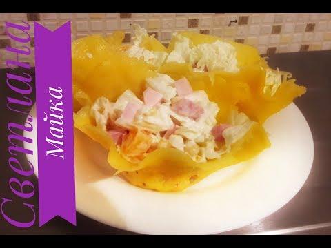 Легкий салат быстрого приготовления с оригинальной заправкой👍 Салаты на праздничный столиз YouTube · Длительность: 2 мин28 с