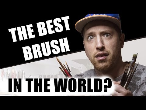 Best Brush in the World for Miniature Painting