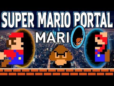 Mari0 | Super Mario Bros. Meets Portal! | Gameplay
