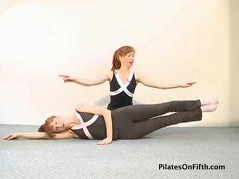 Pilates Workout Exercise: Side Leg Lift Series, Part-3