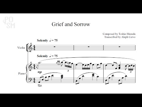 Grief and Sorrow Sheet Music