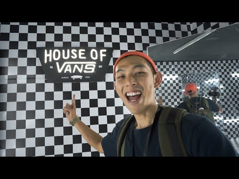 VANS鐵粉不能不去的活動!HOUSE OF VANS![Eng Sub] A Must Go Event For Vans Fans