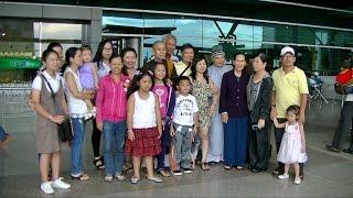 Tiễn gia đình Phật tử Nguyễn Thị Ngọc Nhung