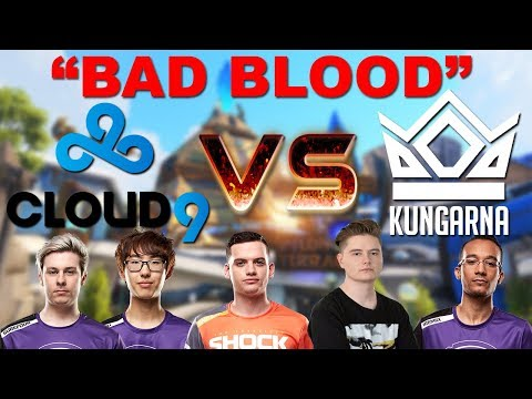 The Story Of Kungarna Vs C9 Overwatch's Craziest Rivalry! thumbnail