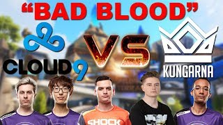 The Story Of Kungarna Vs C9 The Craziest Match Of My Life!
