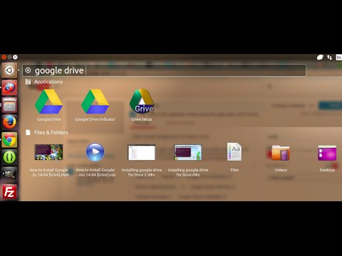 How to install Google Drive on Ubuntu 14.04 Updated-Grive2