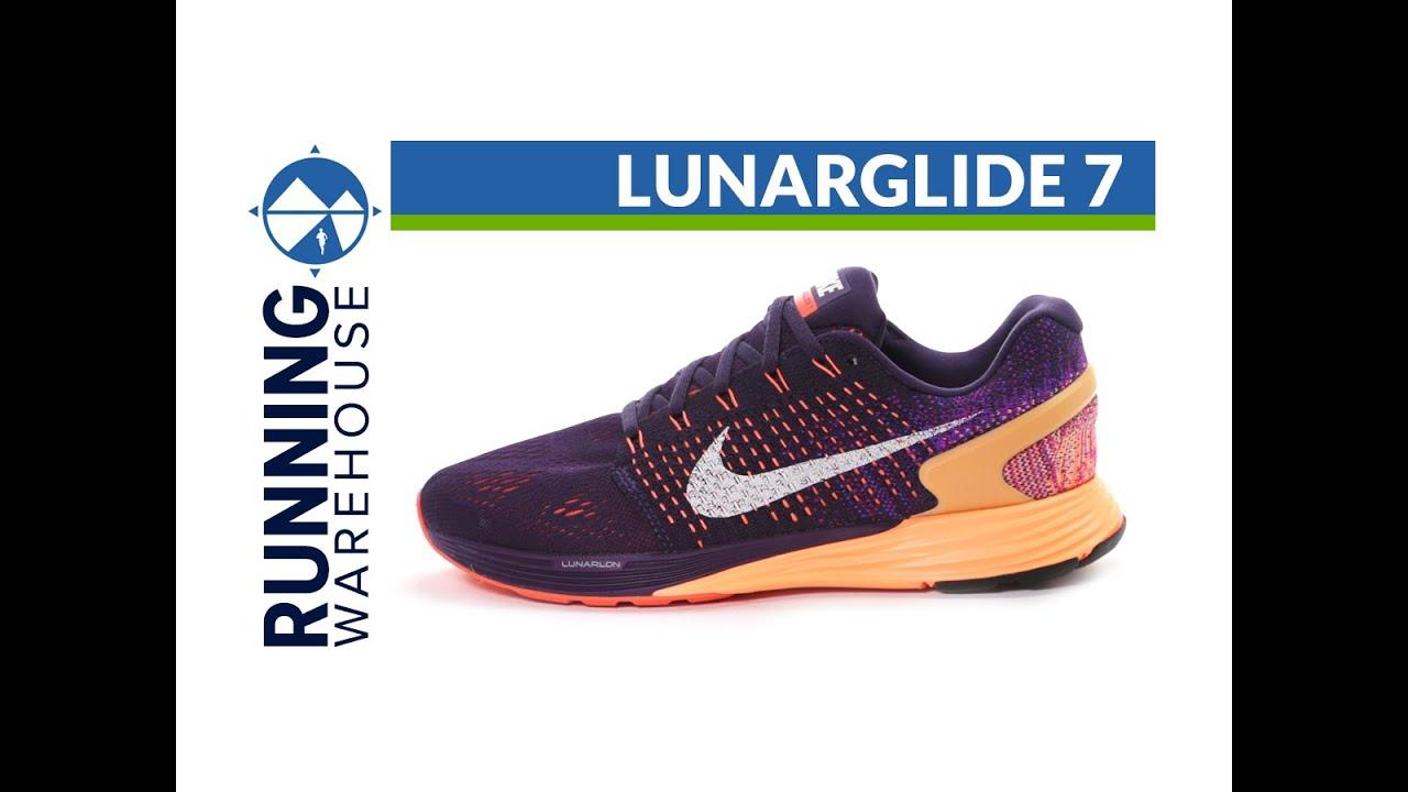 buy online 7f5fb ecf0c Nike LunarGlide 7 for women - YouTube