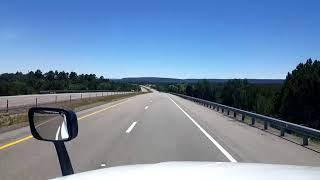 BigRigTravels LIVE! Interstate 25 Southbound between Las Vegas and Santa Fe, New Mexico