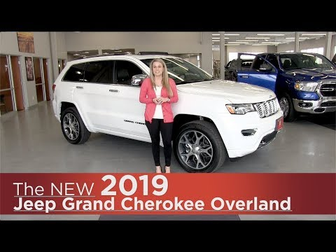 New 2019 Jeep Grand Cherokee Overland - Elk River, Coon Rapids, Mpls, St Paul, St Cloud, MN   Review