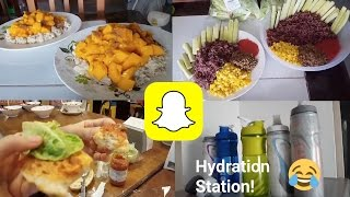Snapchat Story Vlog | What We Eat