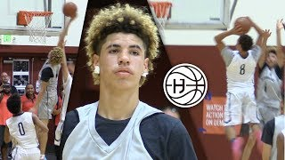 LaMelo Ball GOES CRAZY 50 POINTS Against High Flying Vegas Elite! DOWN TO THE WIRE GAME!