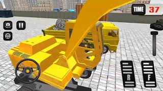 Road Construction Operating Heavy Machinery | Android/ios Gameplay 2018