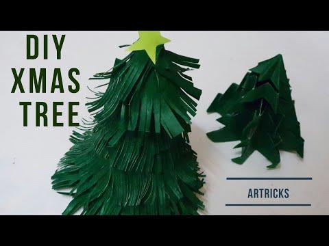 Diy Christmas tree| How to make paper Christmas tree | Paper crafts | xmas crafts | #Christmas