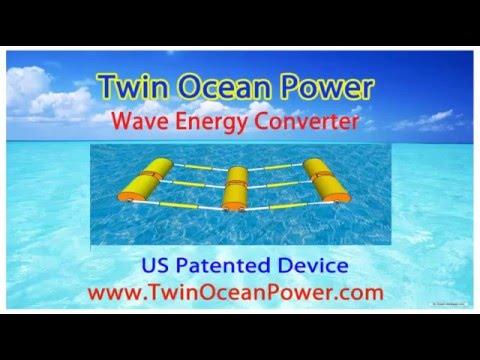 Twin Ocean Power, Best Wave Energy Converter