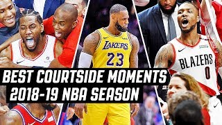 MUST-SEE Courtside Angles/Moments 2018-19 NBA Season COMPILATION!