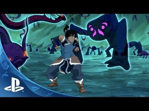 The Legend of Korra Video Game Announce Trailer | PS Vita