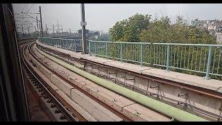 Delhi Metro Magenta Line - OKHLA NSIC to BOTANICAL GARDEN