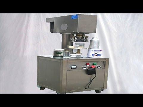 small fish cans sealing machine customized can sealer seaming Machines pour l'étanchéité des boîtes