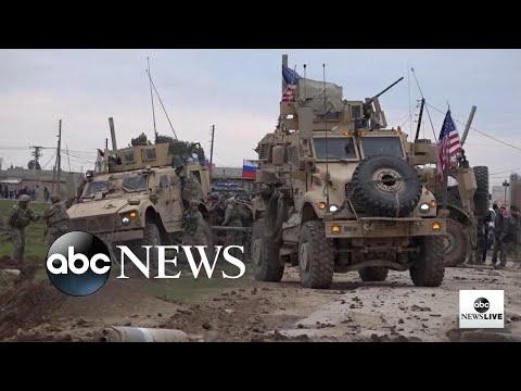 Exclusive Look Inside US Patrols In Northeastern Syria