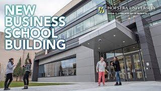 Opening Hofstra's New Business School Building