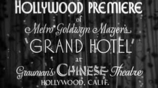 """""""Grand Hotel"""" Premiere"""
