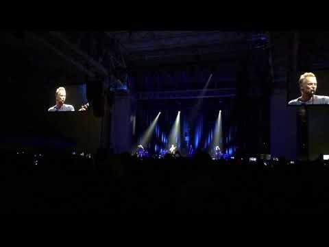 Sting - Intro Skopje (live)