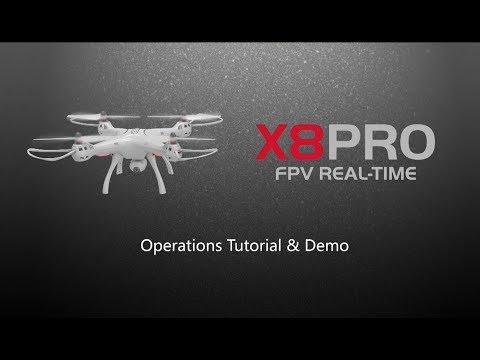 Квадрокоптер Syma X8PRO с GPS модул, безжична камера и автоматично връщане 11