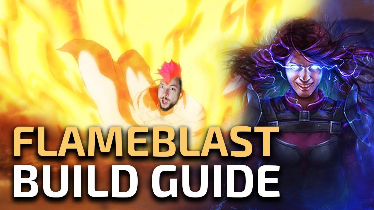 Self-cast Flameblast Elementalist - Build Guide - RaizQT