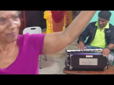 Rayen Kalpoe with Guyanese Musicians having fun