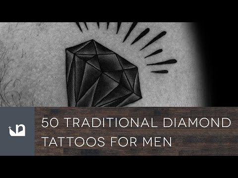 50 Traditional Diamond Tattoos For Men
