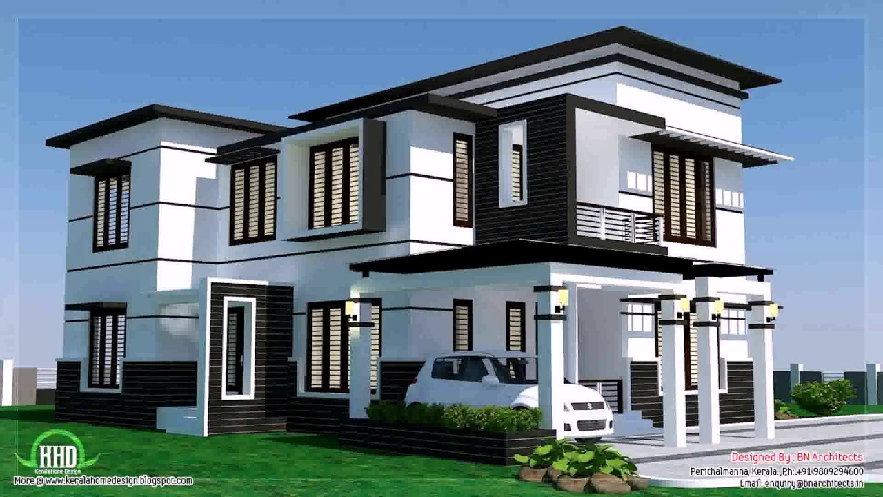 Modern Contemporary Bungalow House Design - YouTube